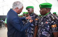 AMISOM honours 17 officers for distinguished service