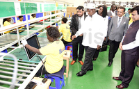 Museveni commissions electronics assembly plant