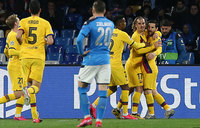 Griezmann rescues Barcelona first-leg draw at Napoli
