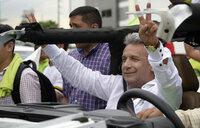 Ecuador to hold run-off in tense presidential vote
