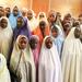 Nigeria's Buhari meets released girls