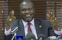 I am still vice-president of South Sudan - Machar