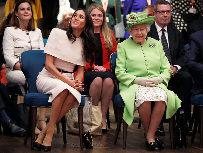 n n this file photo taken on une 14 2018 ritains ueen lizabeth  and eghan uchess of ussex gesture during their visit to the toryhouse in hester heshire on une 14 2018  rince arry and his wife eghan formally step down as senior members of the ritish royal family on arch 31 2020 as they start a controversial new life in the nited tates hoto by       file photo taken on une 14 2018 ritains ueen lizabeth  and eghan uchess of ussex gesture during their visit to the toryhouse in hester heshire on une 14 2018  rince arry and his wife eghan formally step down as senior members of the ritish royal family on arch 31 2020 as they start a controversial new life in the nited tates hoto by