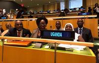 Kadaga in New York for UN status of women meeting
