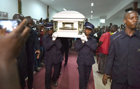 Ivorians say final goodbye to rumba icon Papa Wemba with all-night tribute