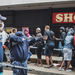 S.African police fire rubber bullets at shoppers during lockdown
