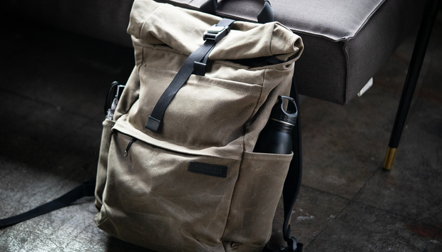 WaterField Designs Tech Rolltop Backpack review: A pouch with a slouch