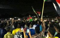 Night protest in Sudan over civilian's death