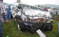 Another accident on Masaka Road claims two