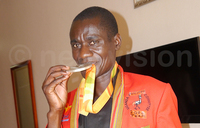 Emong rewarded for his exploits in London games