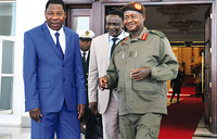 Museveni, AU head discuss African conflicts