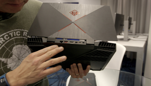 HP's revamped Omen 15 laptop packs GeForce RTX graphics and a ludicrously fast 240Hz display