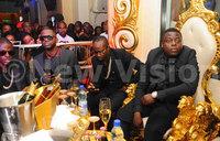 Cash, booze at rich gang party
