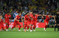 England beat Colombia 4-3 on penalties to storm quarter-finals