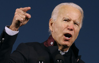 Biden sets fundraising record with $383 mn in September