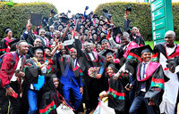 Ecstasy, as Makerere marks second day of 69th graduation