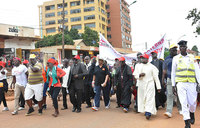 Martyrs Day buildup: Christians in 'Walk of Faith'