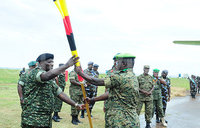 Brig Kavuma takes command of Ugandan AMISOM troops