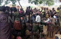 Hundreds turn out at Karamoja health camp