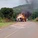 Kenyan driver killed in Kiboga fuel tanker fire