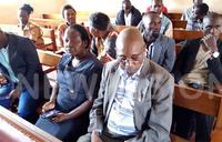 Kyaligonza, bodyguards in court today