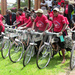 Residents receive free bicycles