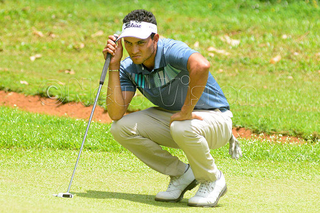 now completed a hattrick of wins at igona and now leads the tour standings