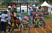 A battle between Omar and Blick for Motocross title