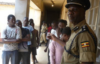 Makerere students appear in court over strike
