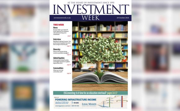 Investment Week - 29 October 2018 digital edition