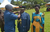 Over 100 Air force soldiers promoted