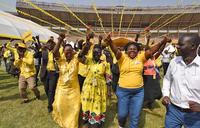 NRM delegates paint Namboole yellow