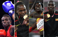 A round-up of Uganda's journey at 2018 Commonwealth Games