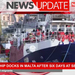 Rescue ship docks in Malta after six days at sea