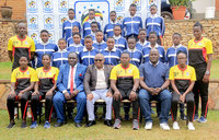 Mugisha tips U-17 girls football team on career choices