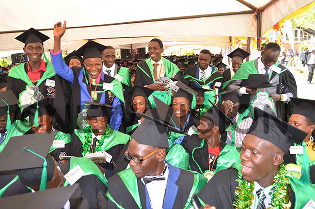 section of students who graduated with a achelor of cience in griculture during the function