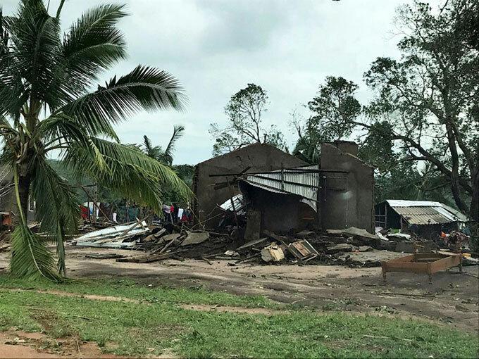 enneth destroyed or damaged 3300 homes
