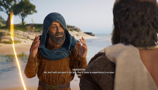 Take a trip through Ancient Greece and Egypt with Assassin's Creed's free Discovery Tours