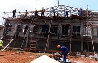 Inside the construction of sh6.4b Busoga institute