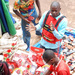Valentine's Day shopping in down town Kampala
