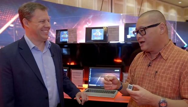 Ryzen 4000 Mobile: We learn more from David McAfee of AMD