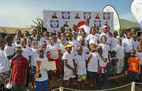 Hundreds grace reach out Mbuya charity run
