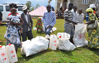 Bududa landslides victims receive relief items worth sh30m