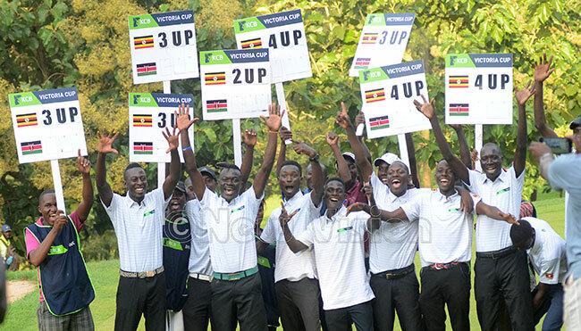 gandas national team celebrate winning the ictoria up at itante ul 6 2019