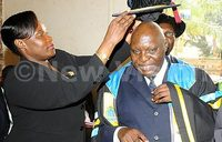 Prof. Ssebuwufu installed as Kyambogo Chancellor