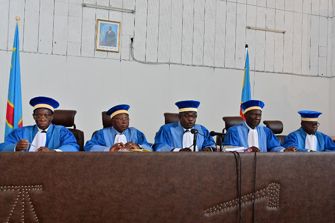he fivejudge onstitutional ourt bench upheld the election of elix shisekedi  hoto