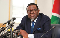 Namibia president denies graft in nuclear deal