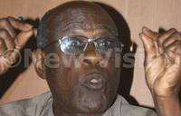 Ex- minister Robert Kitariko dead