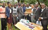 Japan donates Gateball equipment to Uganda