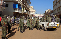 Police take over Mbale Park